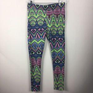 Topshop Multi Color Leggings US 12